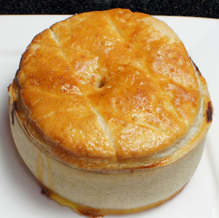 Luxury deep filled pie
