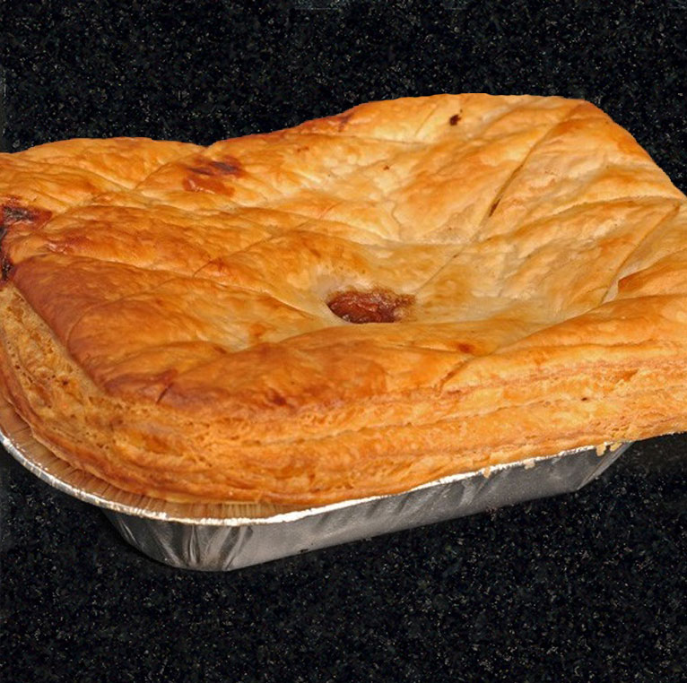 Traditional Scottish steak pie
